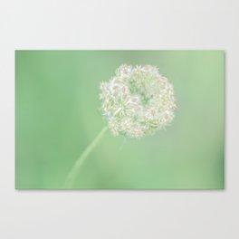 Spring Green Queen Canvas Print