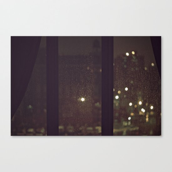 Something About The Rain Canvas Print