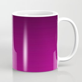Black and Magenta Gradient Coffee Mug