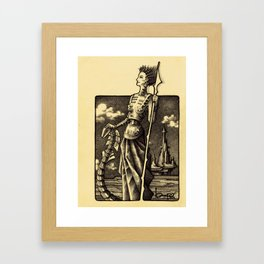 DELINDA Framed Art Print