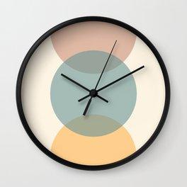 Circle Gradient - Melons Wall Clock