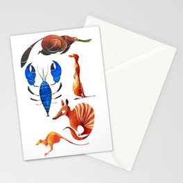 Australian animals 2 Stationery Cards