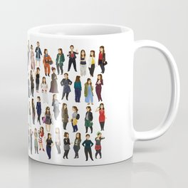 Every Clara Outfit Ever Coffee Mug