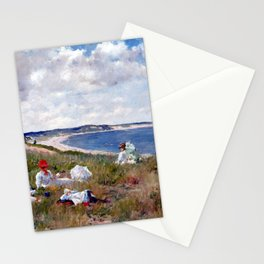 William Merritt Chase Idle Hours Stationery Cards