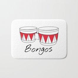 Bongos Bath Mat