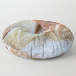Seashells 4 Floor Pillow