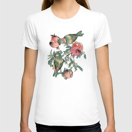 Pomegranate and Lovebirds T-shirt