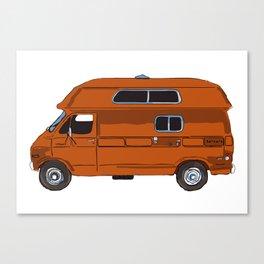 Rico's Van Canvas Print