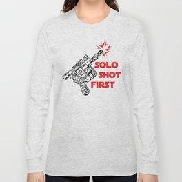 Han Shot First Long Sleeve T-shirt
