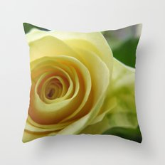 Yellow Roses #12 Throw Pillow