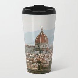 Morning View of the Florence Duomo Travel Mug