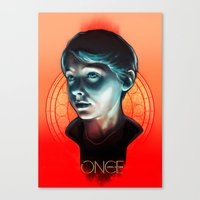ouat Canvas Prints featuring Henry - OUAT by Seventy-three