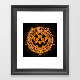 Cult of the Great Pumpkin: Alchemy Logo Framed Art Print