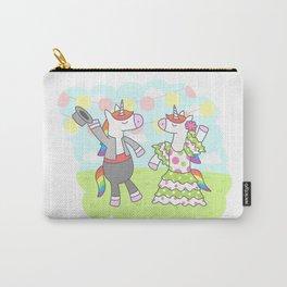 Unicorn Flamenco Carry-All Pouch
