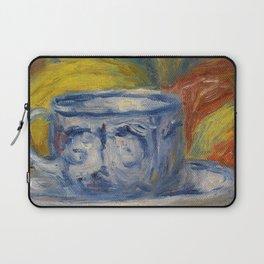 "Auguste Renoir ""Tasse et fruits (Cup and fruits)"" Laptop Sleeve"