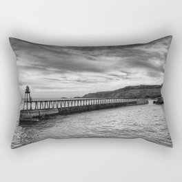 Whitby Revisited Rectangular Pillow