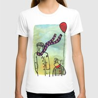 ballon T-shirts featuring Scarf and ballon by GAiquel