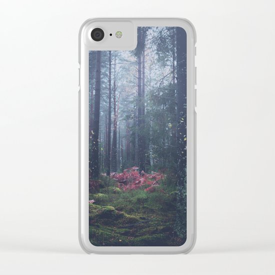 Where dreams are born Clear iPhone Case