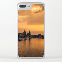 DRESDEN 03 Clear iPhone Case