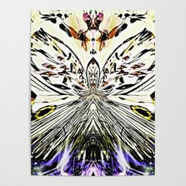 A Little Abstract Butterfly Poster