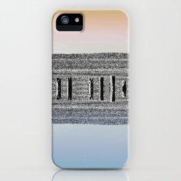 Sticks and stones iPhone Case