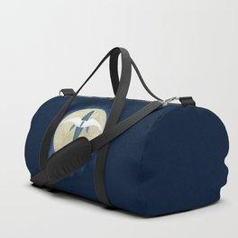 Flying whale Duffle Bag