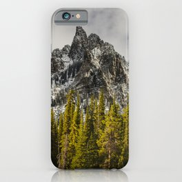Call of the Wild, Peak in the Forest iPhone Case