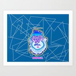 Bwilly Bwightt's Circus Member - Hood Rilla Art Print