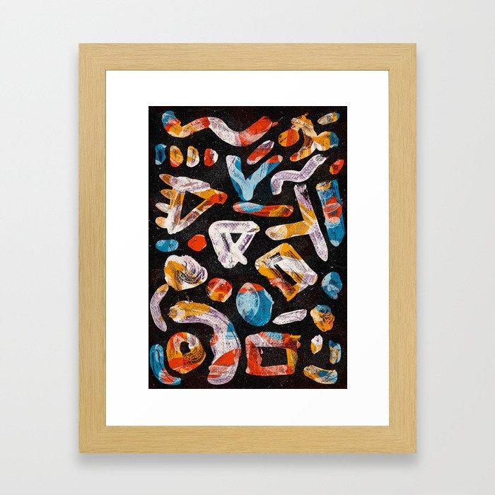 Pattern № 11 Framed Art Print