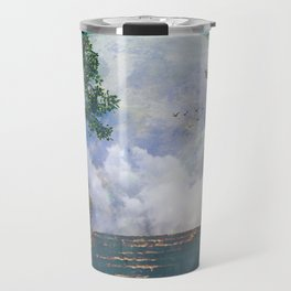 Moon Stairs Travel Mug
