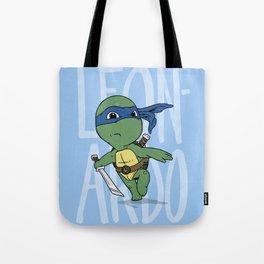 TMNT: Leonardo (Cute & Dangerous) Tote Bag