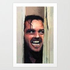 Fear. Art Print