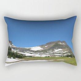 Begining the Hike Rectangular Pillow