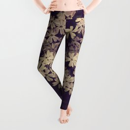 Blazing in Gold and Quenching in Purple Leggings