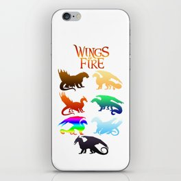 Wings of Fire Tribes dragon iPhone Skin
