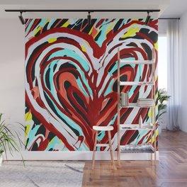 Happy Heart Wall Mural