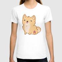 shiba inu T-shirts featuring Shiba Inu by Berneri