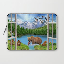 Window to the Great Bear Wilderness Laptop Sleeve
