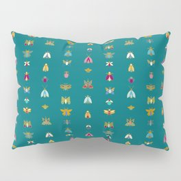Line up bugs Pillow Sham