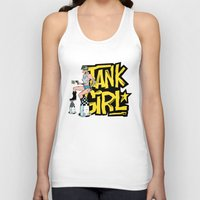 tank girl Tank Tops featuring Tank Girl Pinup by AngoldArts