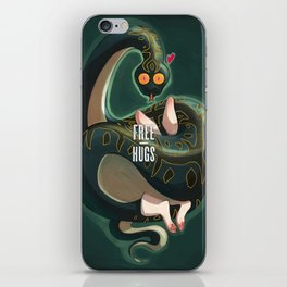 Free hugs iPhone Skin