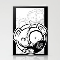 infamous Stationery Cards featuring Infamous Bear Logo by TobiasGebhardt