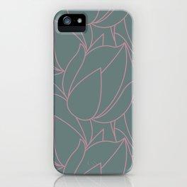Succulent floral element & patterns VI iPhone Case
