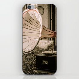 Sit Down by the Victrola iPhone Skin