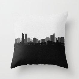 City Skylines: Denver (Alternative) Throw Pillow