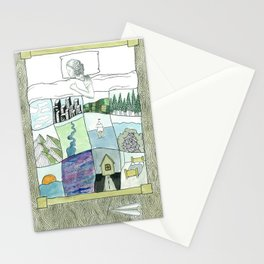 Daydream #12 Stationery Cards