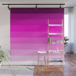 pink fade pattern home decor Wall Mural