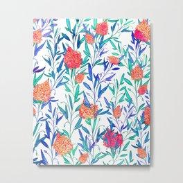 Vibrant Floral #society6 #buyart #decor Metal Print