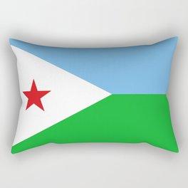 Flag of Djibouti Rectangular Pillow