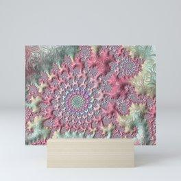 Pastel Sandstorm Mini Art Print